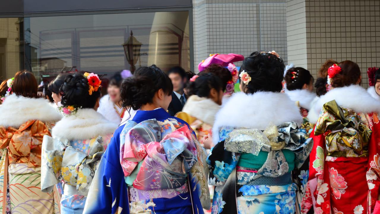 東広島市新成人を祝う会(成人式)のイメージ写真