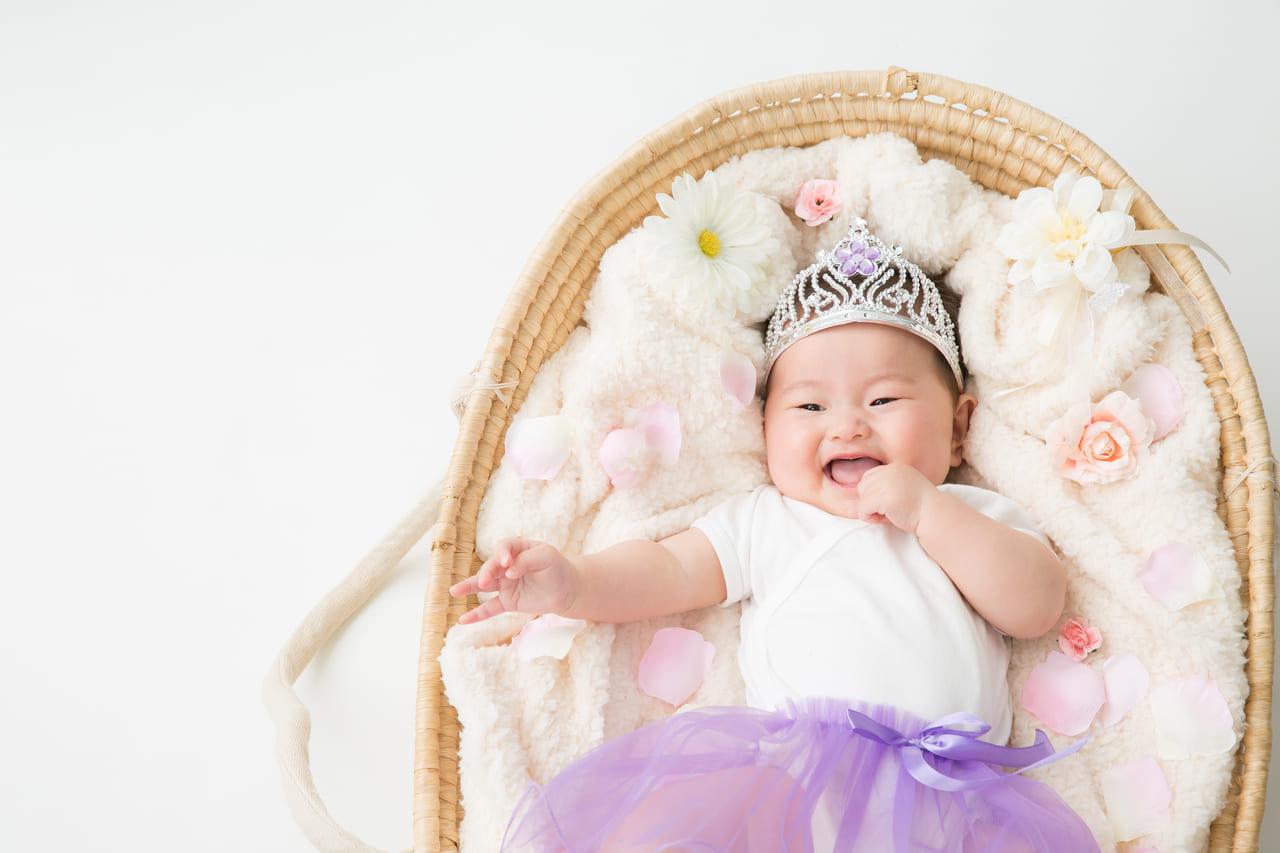 スタジオアリス赤ちゃん撮影のイメージ写真