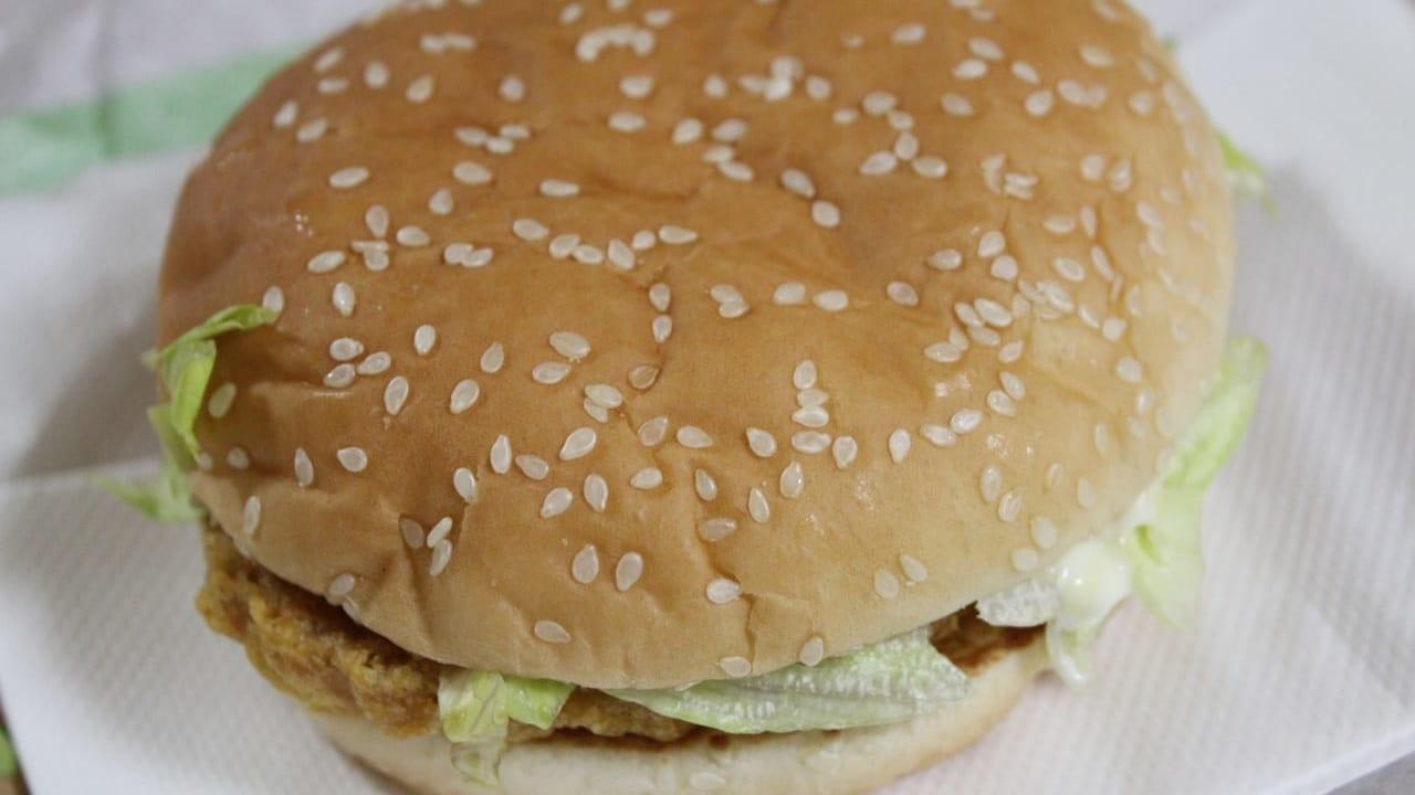 ロッテリアハンバーガーのイメージ写真